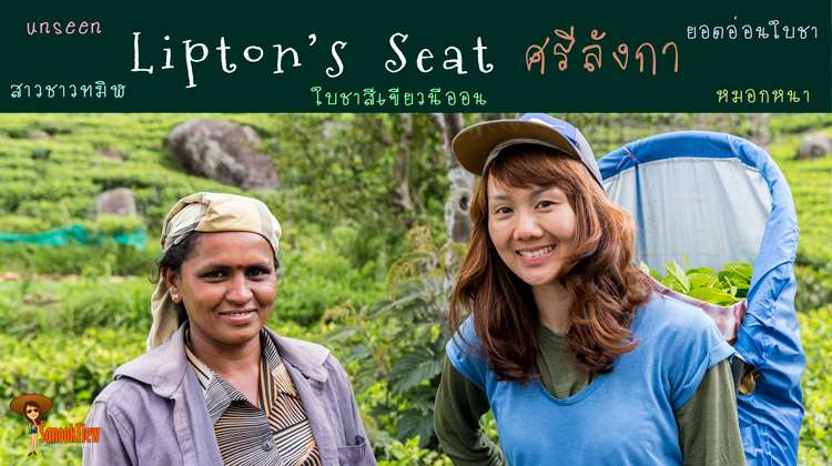 Lipton's seat ไร่ชาลิปตัน Haputale Srilanka