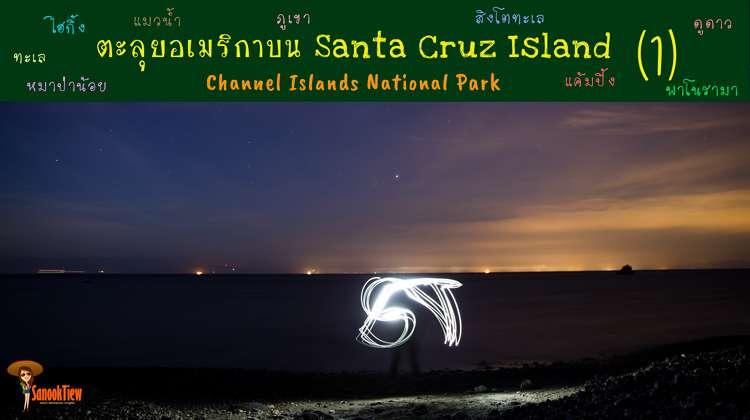 ตะลุยอเมริกาบน Santa Cruz Island ใน Channel Islands National Park (1)